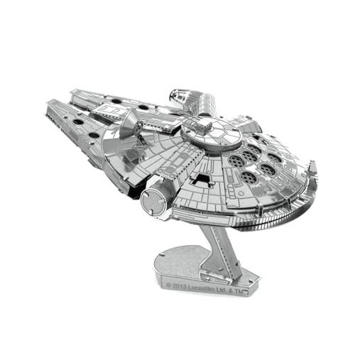metal earth; star wars; millennium falcon; puzzles; model; 2 sheet; steel