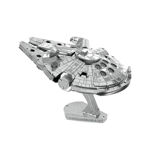 metal earth; star wars; millennium falcon; puzzles; model; 2 sheet; steel