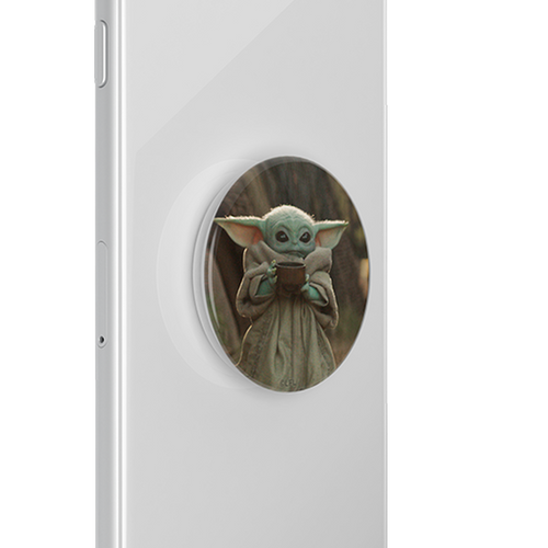 PopSockets: Baby Yoda Sipping