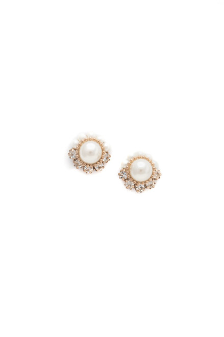 Real Spies Real Stories Pearl Studs