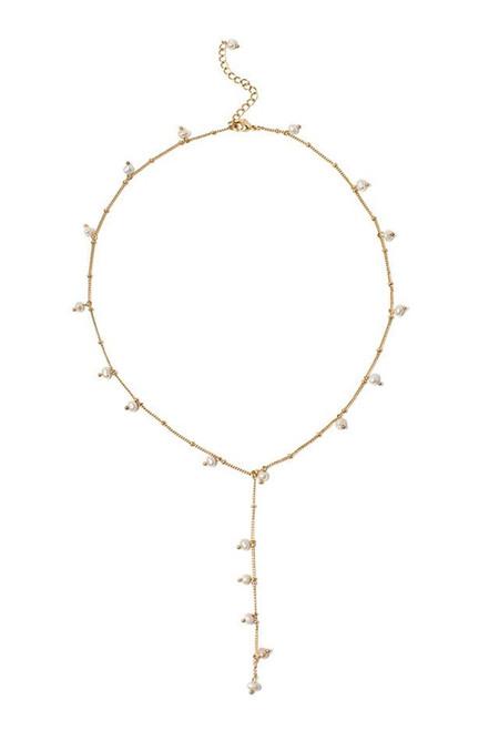 Coco Chanel Pearl Lariat Necklace