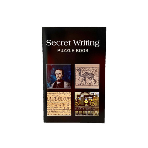 Secret Writing Puzzle Book