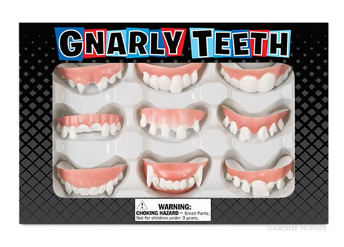 Gnarly Teeth (Set of 9)