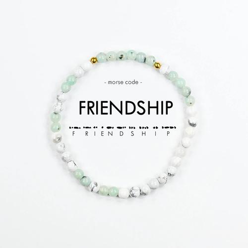 Morse Code Bracelet Friendhip