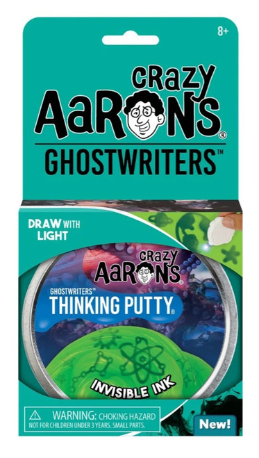 Crazy Aaron's Thinking Putty: Invisible Ink