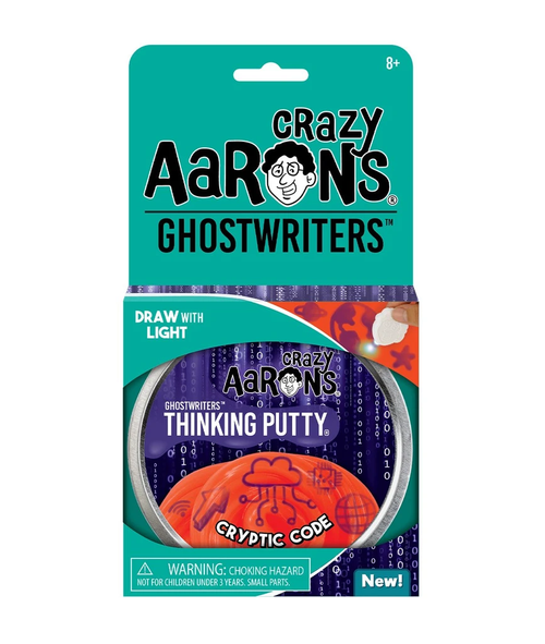 Crazy Aarons Thinking Putty: Cryptic Code
