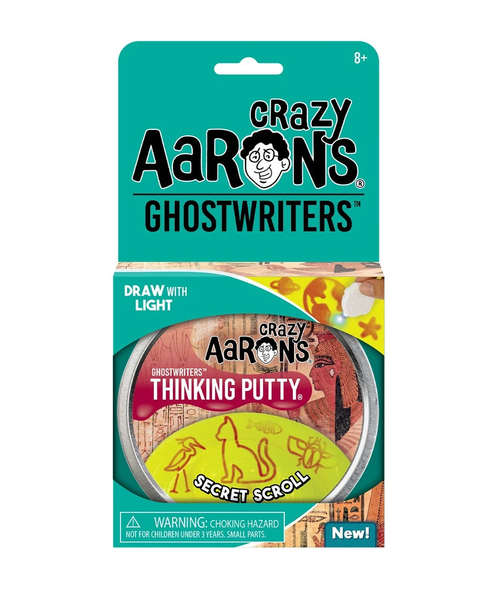 Crazy Aarons Thinking Putty: Secret Scroll