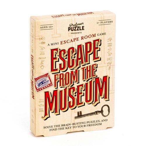 Escape from The Museum Puzzle- Backordered