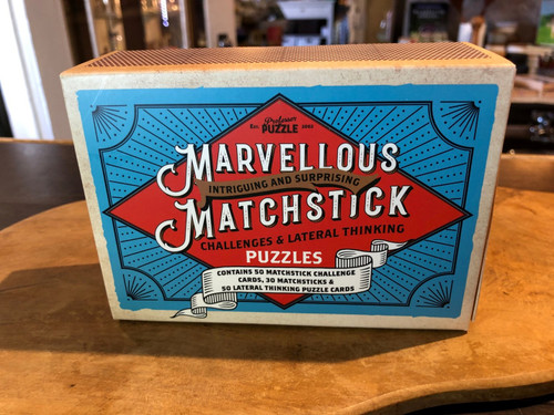 Marvelous Matchsticks Game