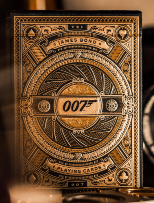 James Bond Gold Playing Cards