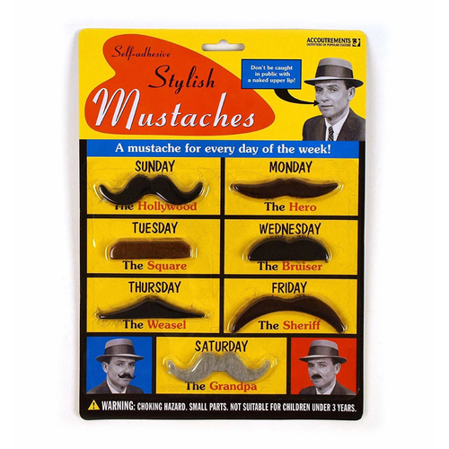 Disguise Mustaches Stylish Set