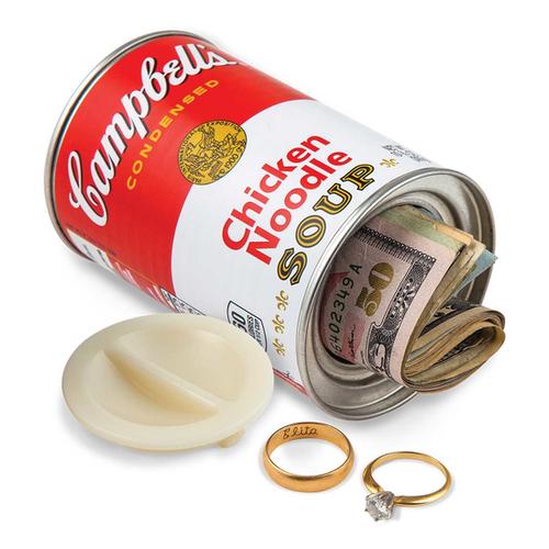 Campbells Chicken Noodle Soup Decoy Can Safe