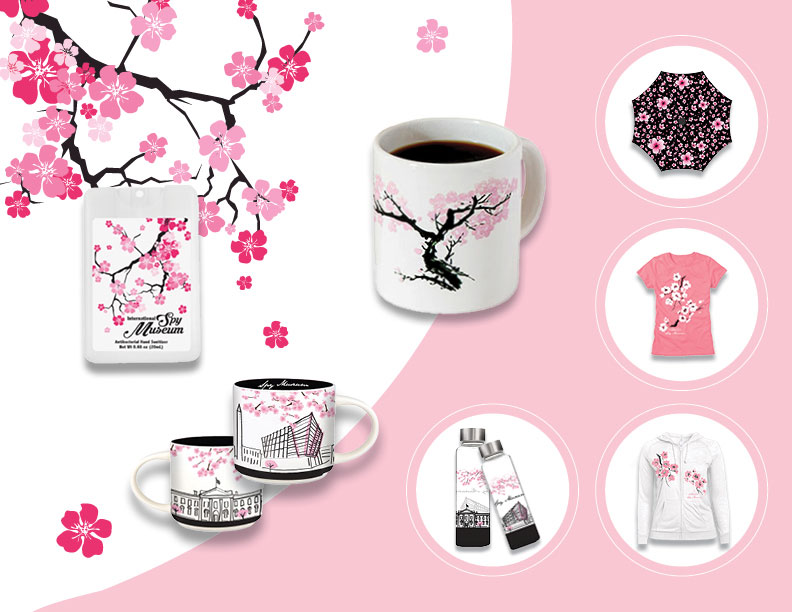 Cherry Blossom Spy Products