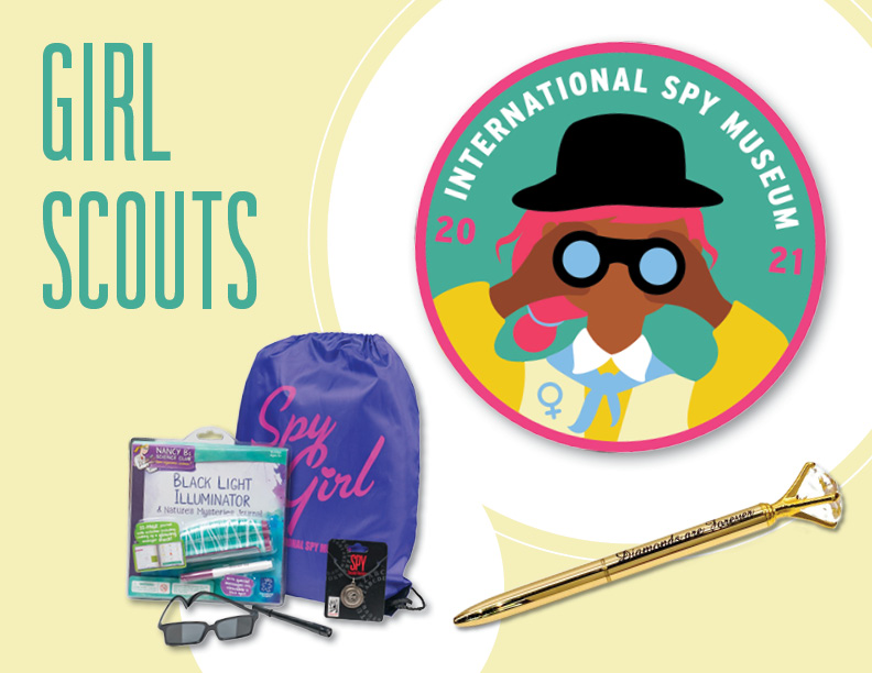 Girl Scouts Spy Products