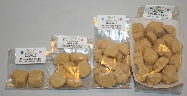 Maple Sugar Pieces in Bag