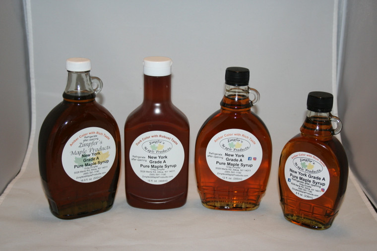 Glass Maple Syrup