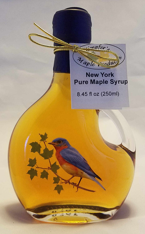Bluebird Glass Bottle