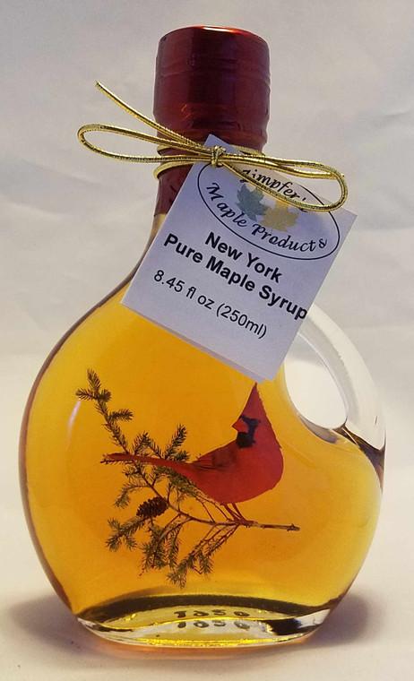 Cardinal Glass Bottle