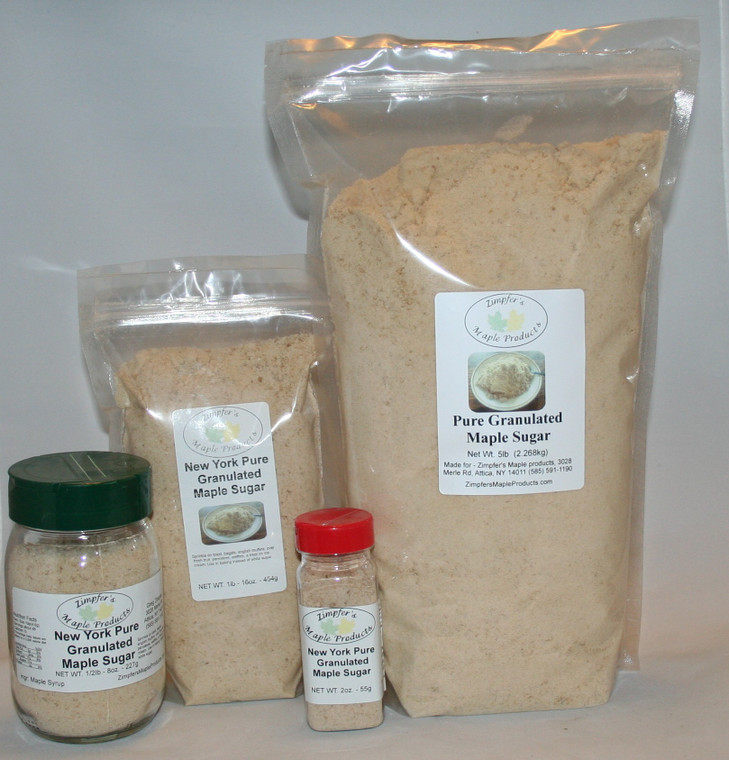 Pure Granulated Maple Sugar