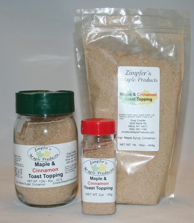 Maple & Cinnamon Toast Topping
