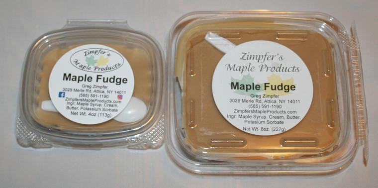 Maple Fudge