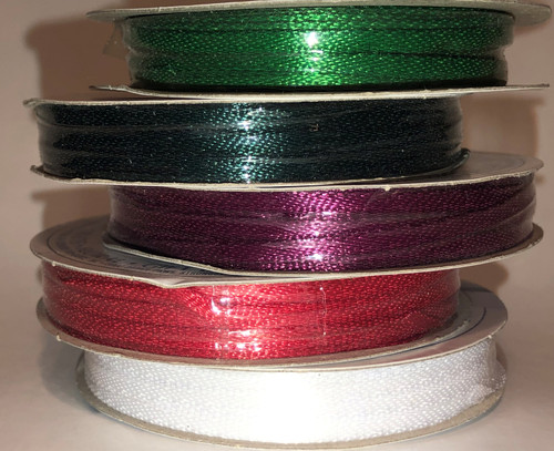 "Satin Ribbon 1/8"" (10yds)"