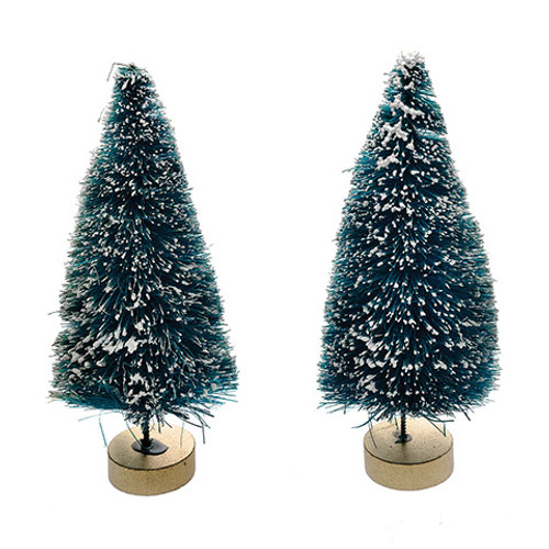 Mini Trees with Frost - 2pk