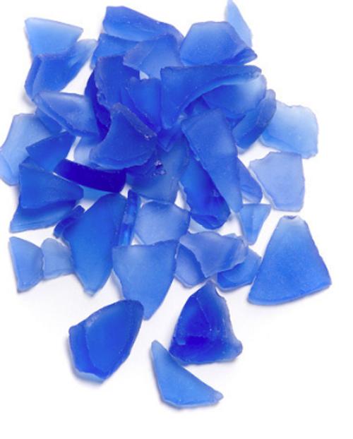Faux Sea Glass - Sky Blue (1lb)