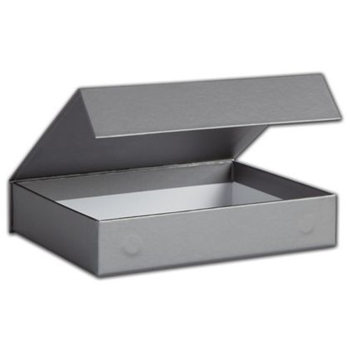 Magnetic Closure Gift Box - Silver