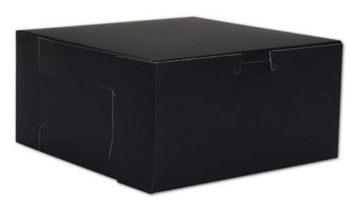 "Box - 8"" x 8"" x 4"" (black gift box)"
