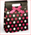 These sturdy bags are not only super cute, but easy to use.  Velcro tabs make gift giving easy.