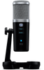 PreSonus Revelator USB-C Microphone with StudioLive Voice Effects Processing USB Condenser Microphone with 3 Polar Patterns, Onboard DSP, Stereo Loopback Function, Headphone Output, Desktop Stand, and Bundled Software