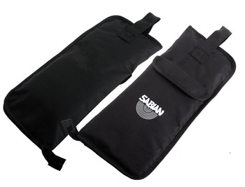 Sabian Economy Stick Bag Carrying Bag for Drumsticks with 2 x Partitioned Inner Pockets, 1 x Small Outer Pocket, and Built-in Hanging Loops