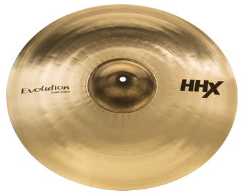 "Sabian HHX Evolution Crash Cymbal - 19"" Brilliant Finish 19"" Crash Cymbal"