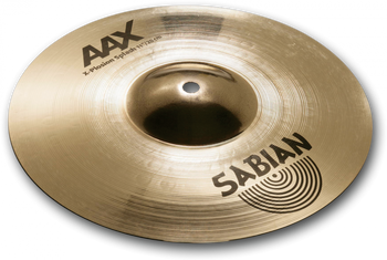 "Sabian AAX X-Plosion Crash Cymbal - 11""  Brilliant Finish"