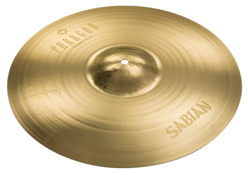 "Sabian Paragon Crash Cymbal - 19"" Crash Cymbal Made from B20 Bronze with Traditional Finish"