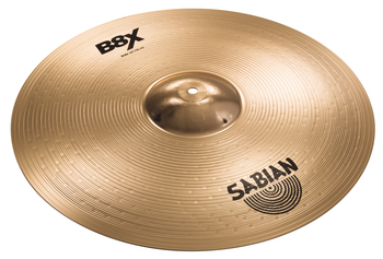 "Sabian B8X Rock Ride Cymbal - 20"" Heavyweight B8 Bronze Ride Cymbal"