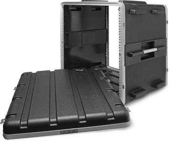 Stagg ABS-12U Case for 12-Unit Rack - Black