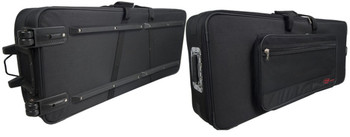 Stagg Lightweight soft case for 88 keys keyboard, with wheels & handle