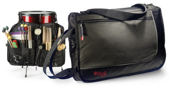 Stagg SDSB17 Multi-Compartment Professional Drumstick Gig Bag