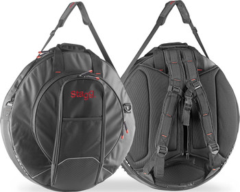 STAGG PRO CYMBAL BAG W/ 2 BACKSTRAPS