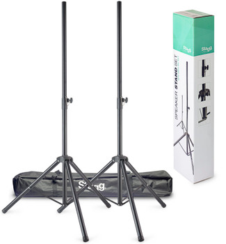 Stagg Two Speaker Stands and Bag
