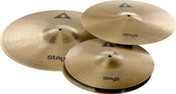 """Stagg AXK SET Innovation Cymbal Set - Copper Steel  14+16+20"""""""