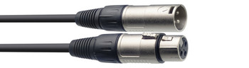 Stagg Microphone cable, XLR/XLR (m/f),  6 m (20')