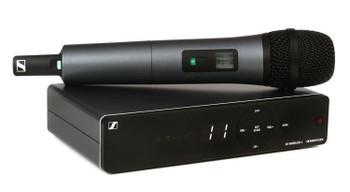 Sennheiser XSW 1-835 Wireless Handheld Microphone System - A Range XS Wireless System with SKM 835-XSW Handheld Microphone Transmitter, and EM-XSW 1 Receiver - A Range (548-572MHz)