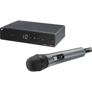 Sennheiser XSW 1-835 Wireless Handheld Microphone System - A Range XS Wireless System with SKM 835-XSW Handheld Microphone Transmitter, and EM-XSW 1 Receiver - A Range (548-572MHz)