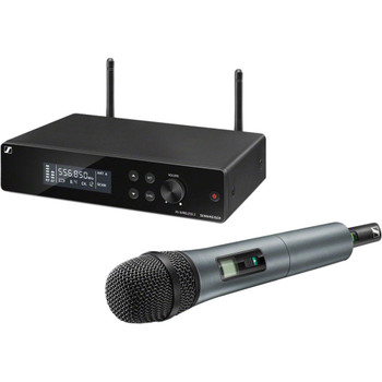 Sennheiser XSW 2-835 Wireless Handheld Microphone System - A Range XS Wireless System with SKM 835-XSW Handheld Microphone Transmitter and EM-XSW 2 Rackmountable Receiver - A Range (548-572MHz)