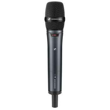 Sennheiser EW 100 G4-835-S Wireless Handheld Microphone System - G Band Evolution G4 Wireless 100 Series System with SKM 100 G4-835-S Handheld Microphone with Transmitter, and EM 100 G4 Rackmountable Receiver - G Band (566-608MHz)