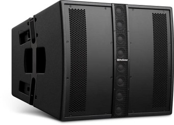 "PreSonus CDL12 Hybrid Point Source/Line Array Constant Directivity Loudspeaker 1,000-watt Hybrid Point Source/Line Array Speaker with 12"" LF Driver, 8 x 2"" HF Drivers, and Dante Connectivity (each)"