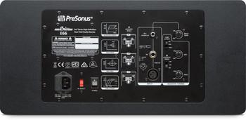 "PreSonus Eris E66 Dual 6.5"" Powered Studio Monitor 140W 2-way Powered Studio Monitor, with Dual 6.5"" LF/MF Drivers and 1.25"" HF Driver (each)"